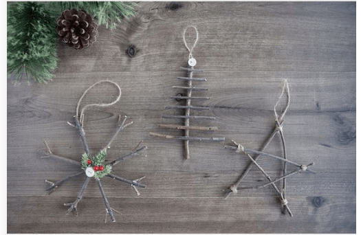 création décoration noël 2019