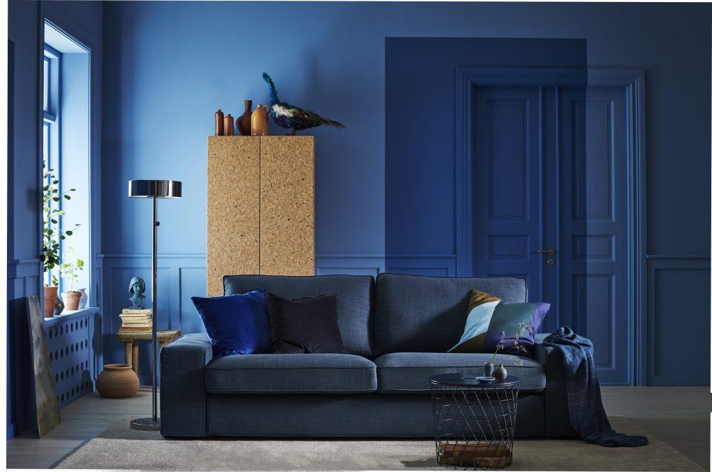 décoration bleu luxembourg