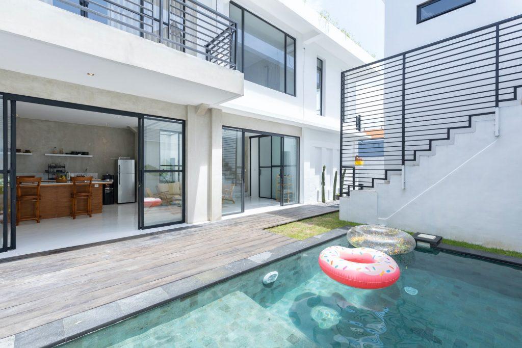 Une piscine dans la maison