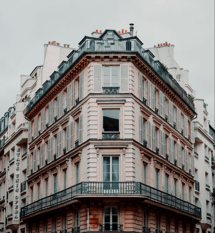 Les appartements en ville sont courants