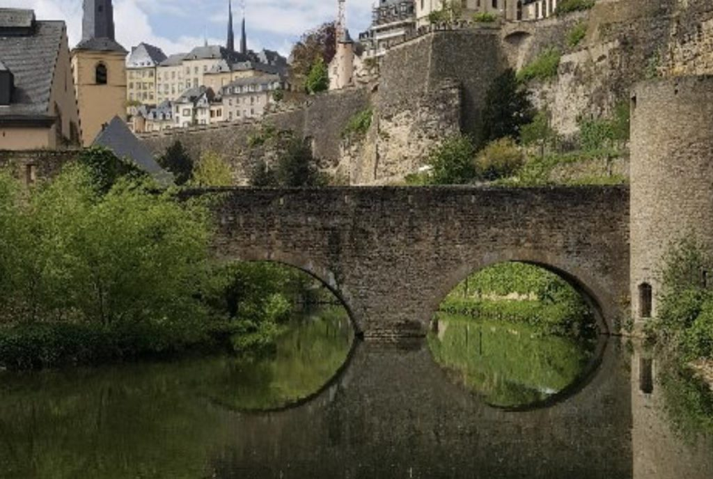 Le Grund au  Luxembourg